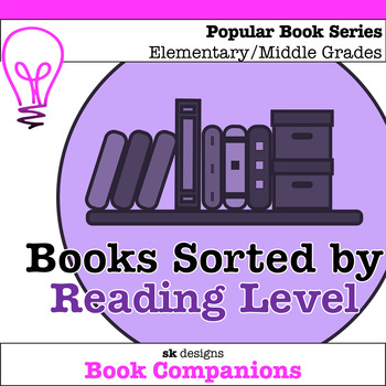Book Series Sorted by Reading Level