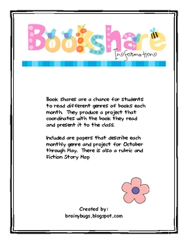 Book Share Projects for the Year