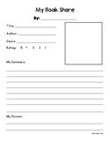 Book Share Template