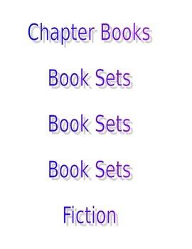 Book Shelf Labels