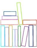 Book Shelf for Book Club- colored