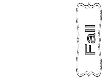 Book Shelve Labels- Black & White
