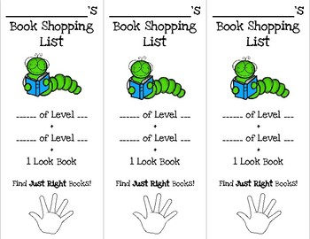 Book Shopping Book Marks