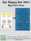 Book Shopping Bookmarks- Harry Potter Style