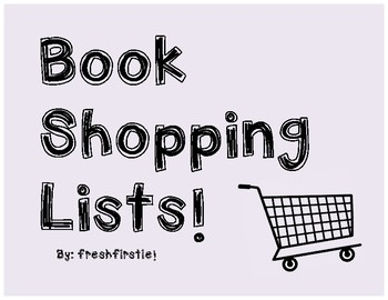 Book Shopping Lists