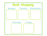 Book Shopping Poster