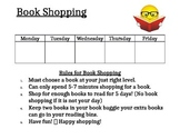 Book Shopping Rules and Expectations