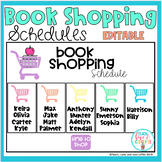 Book Shopping Schedules Editable