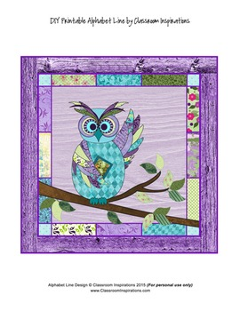 Book Smart Owls Accents (cut outs) – Coordinates with Book Smart Owls Theme