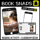 Book Snaps: Reading Activity for Any Work + Classroom Decor