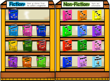 Book Sorting Activity and Reading Log