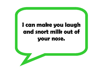 Book Speech Bubbles for a Library Display