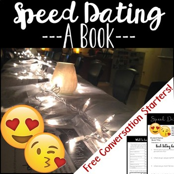 Book Speed Dating: A fun free-choice reading activity and book project