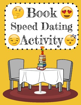 Book Speed Dating Activity