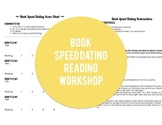 Book Speed Dating -Reading Workshop ELA Middle School Acti