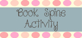 Book Spine Activity Sheet - Editable