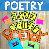 Book Spine Poetry Bulletin Board Activity Kit