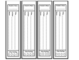 Book Spine Printable