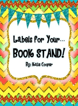 Book Stand Labels