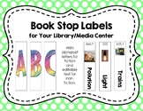 Book Stop Labels (Editable in PPT)