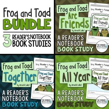 Frog and Toad BUNDLE {3 Book Studies}