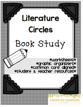 Novel Study - General Book Study, Literature Circle Resources