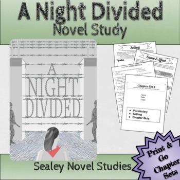 Battle of the Books / Novel Study: A NIGHT DIVIDED by Jennifer A. Nielsen
