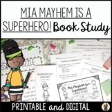 Book Study Aligned to Mia Mayhem is a Superhero! for Readi