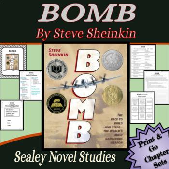 Battle of the Books / Novel Study: BOMB by Steve Sheinkin