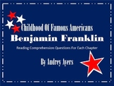 Book Study: Benjamin Franklin (Childhood of Famous Americans)