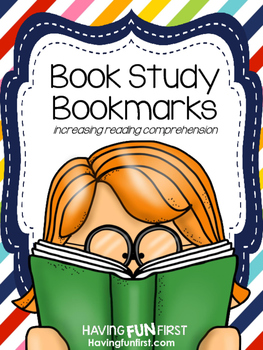 Book Study Bookmarks: Increasing Reading Comprehension
