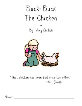Book Study : Buck Buck the Chicken