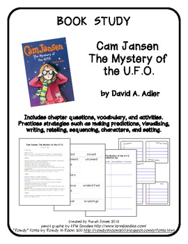 Book Study: Cam Jansen, The Mystery of the U.F.O. by David