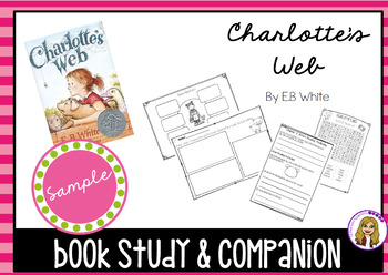 SAMPLE - Book Study & Activites - Charlotte's Web