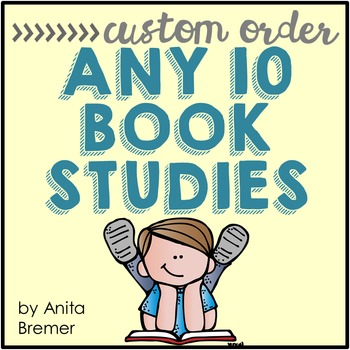 Book Study Custom Order {Choose 10}
