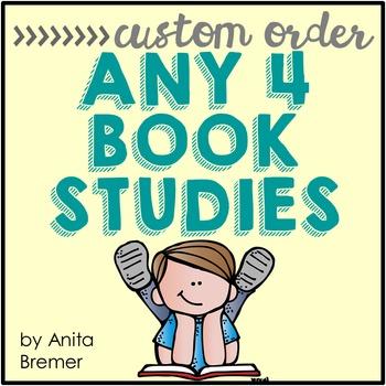 Book Study Custom Order {Choose 4}