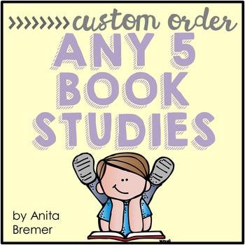Book Study Custom Order {Choose 5}