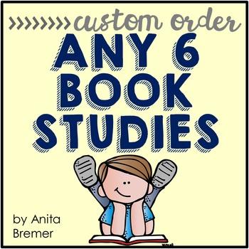 Book Study Custom Order {Choose 6}