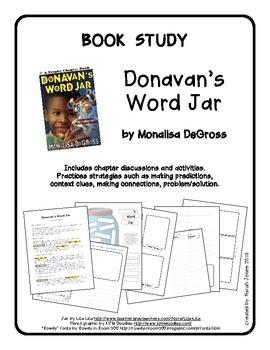 Book Study: Donavan's Word Jar by Monalisa DeGross