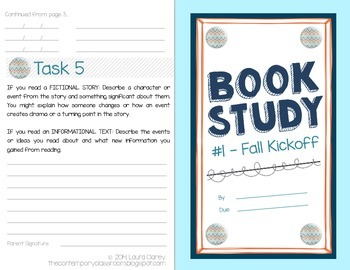 Book Study - Fall Kickoff Project