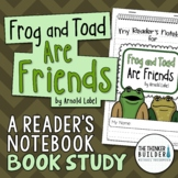 Frog and Toad Are Friends {A Book Study}
