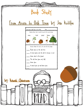 From Acorn to Oak Tree: Vocabulary and Sequencing {Level H}