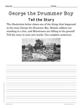 Book Study George the Drummer Boy An American Revolution Story I Can Read
