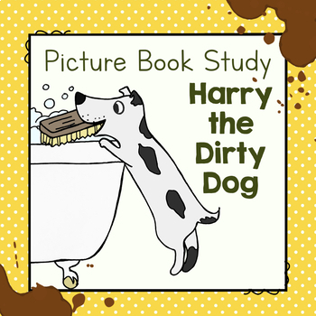 Harry the Dirty Dog Guided Reading Companion Level J | TpT | 350x350