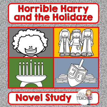 Book Study: Horrible Harry and the Holidaze by Suzy Kline