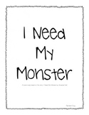 Book Study: I Need My Monster