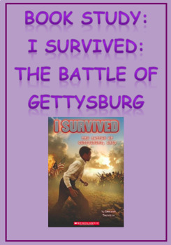 Book Study: I Survived: The Battle of Gettysburg, 1863