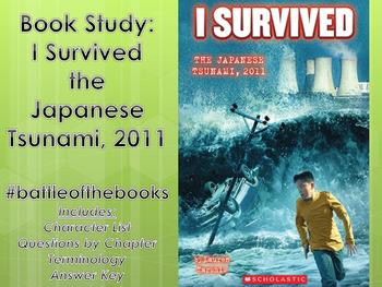 Book Study: I Survived the Japanese Tsunami 2011