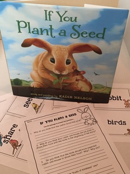 If You Plant a Seed by Kadir Nelson Book Study