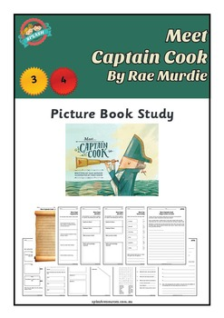 Book Study - Meet Captain Cook (Australian History)